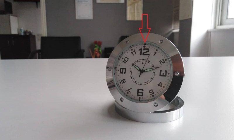 ρολόι για ντετέκτιβ με κρυφή κάμερα
